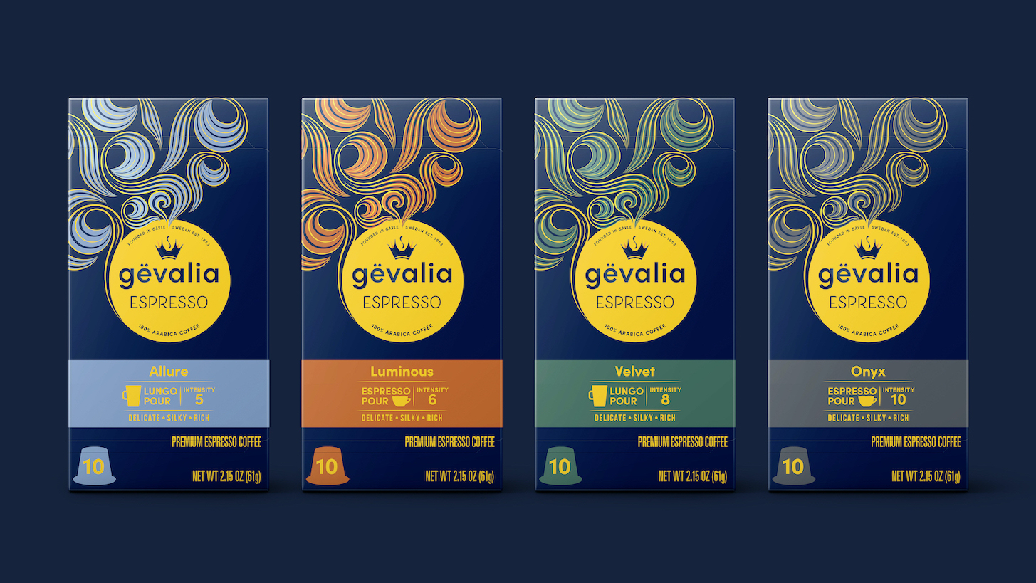 BrandOpus Premiumizes Coffee Giant Gevalia with New Rebrand