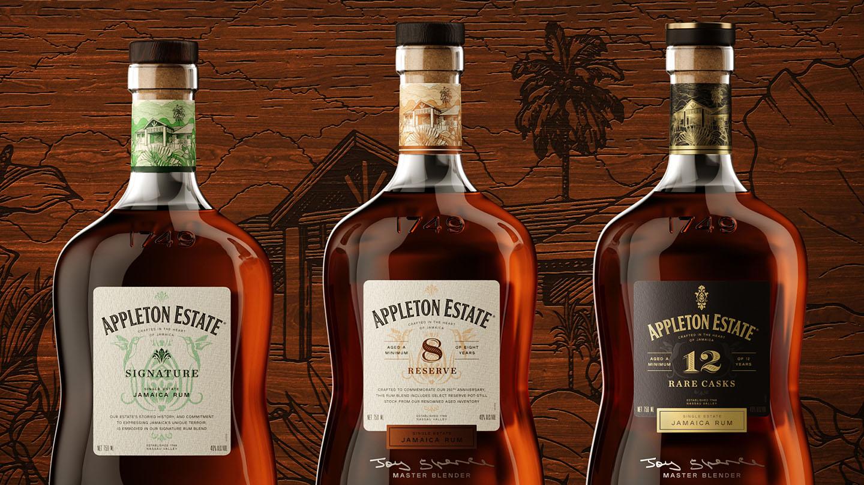 Superunion Rebranding of Appleton Estate Rum to Commemorate the Estate's Heritage