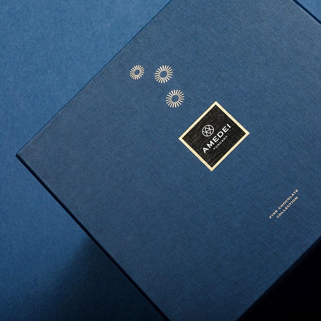 Amedei Bluniverso Chocolate Packaging Design by Drogheria Studio
