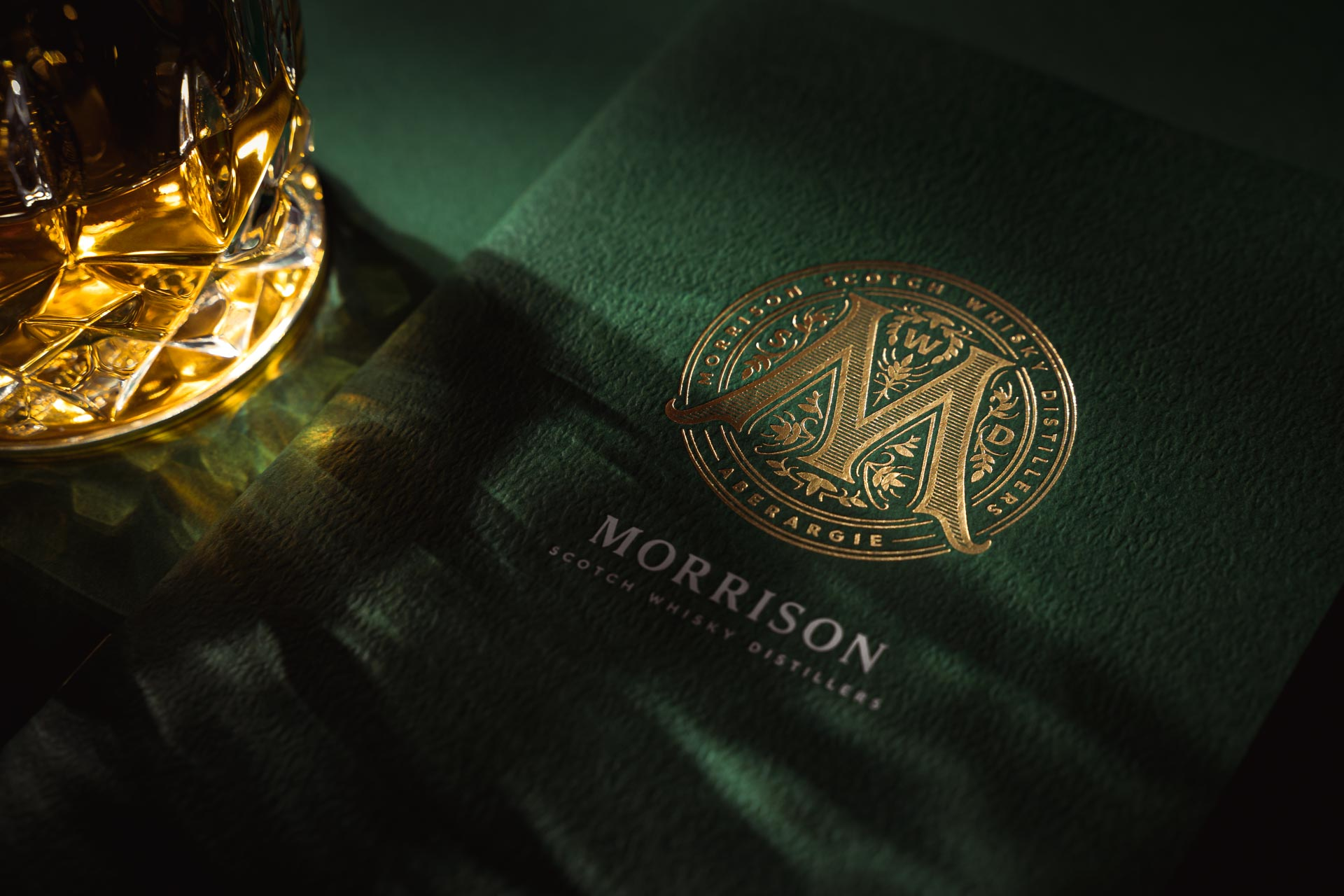Corporate Brochure for Morrison Scotch Whisky Distillers by Stckmn