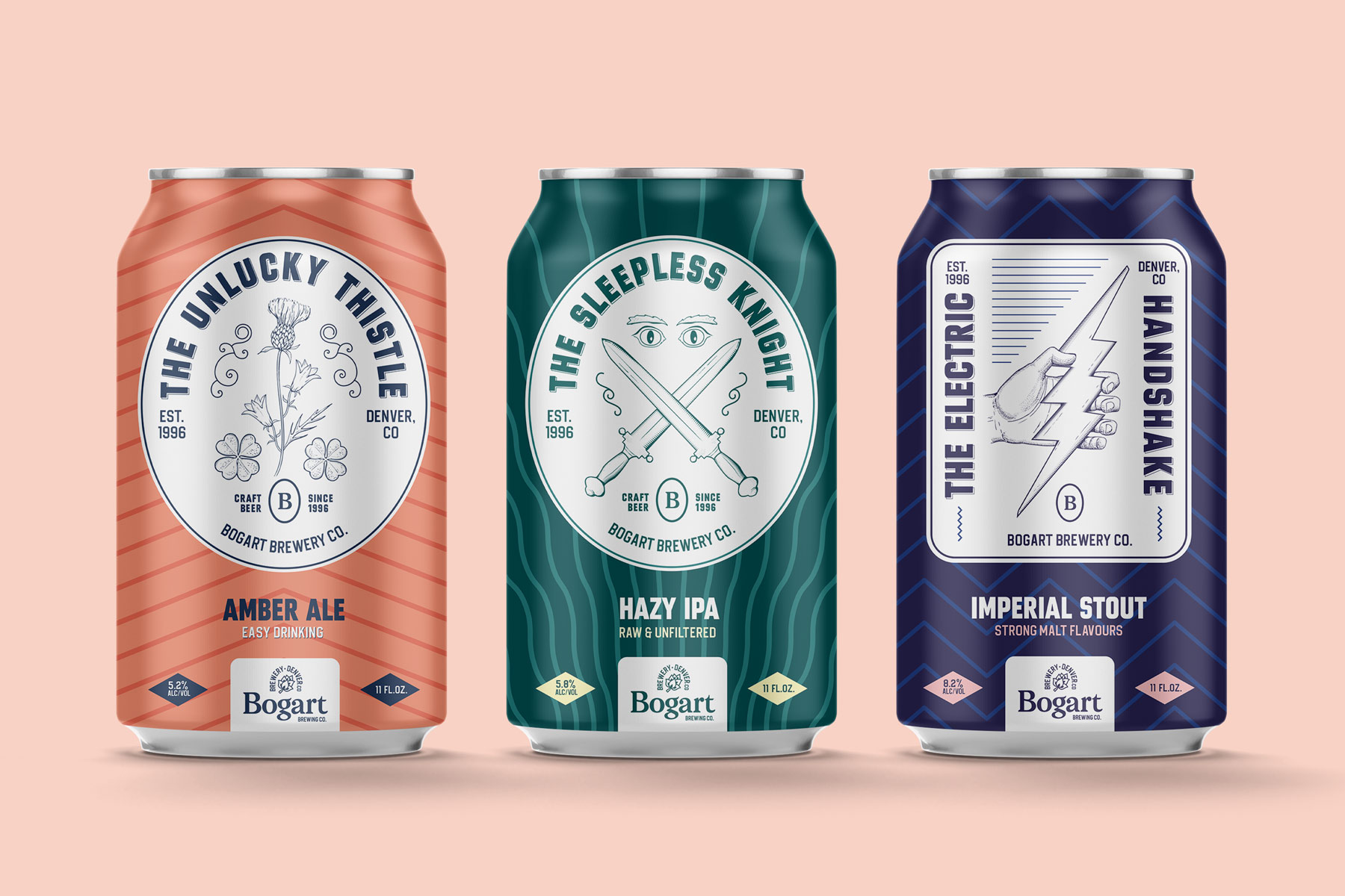 Family Owned Bogart Brewery Brand Identity Created by Kalistostudio