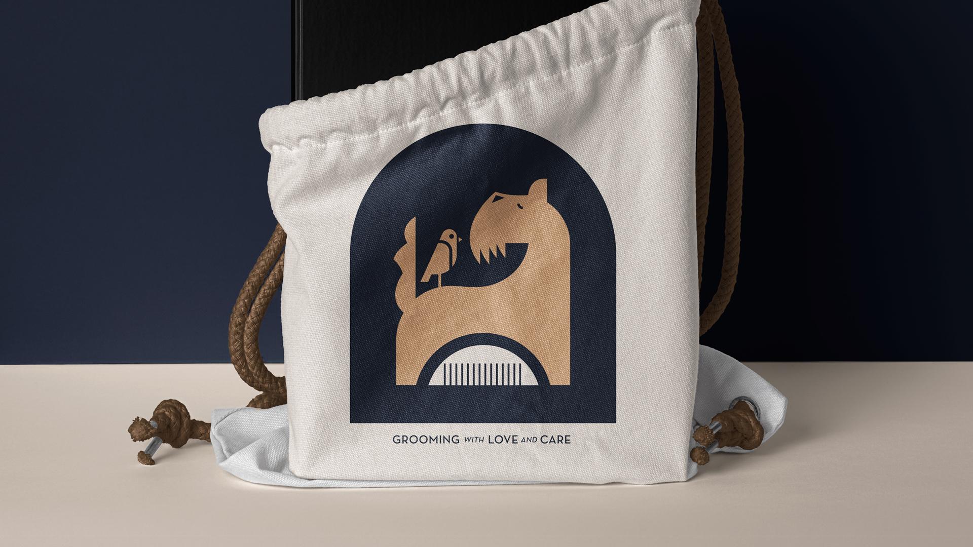 Dog Groomer Branding Design by Maria Delliou