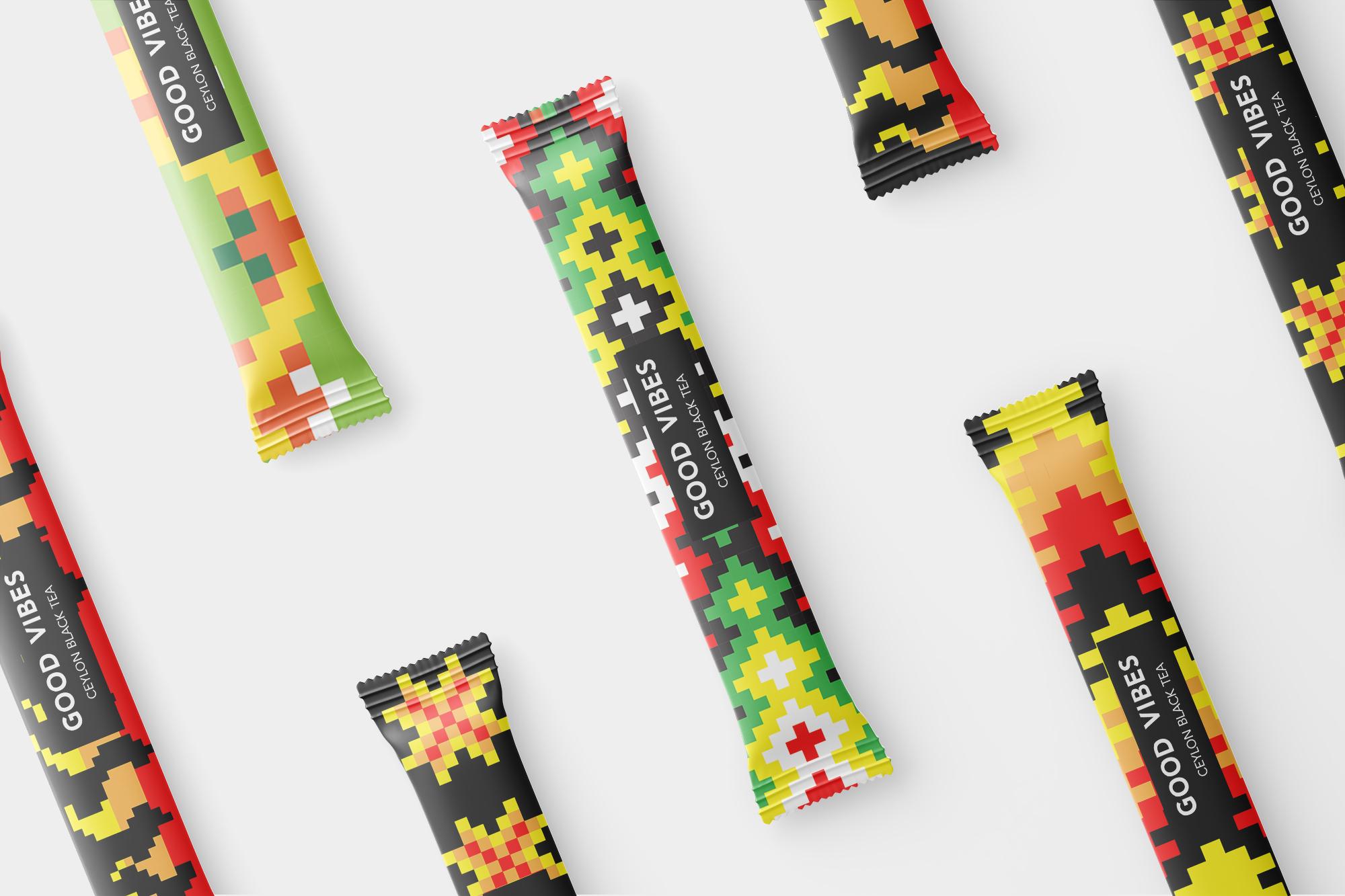 Ceylon Black Tea Good Vibes Student Packaging Design Concept by Ekaterina Nikolaeva