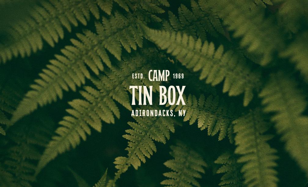 Christine Clayton Design Creates Camp Tin Box Brand Identity Design
