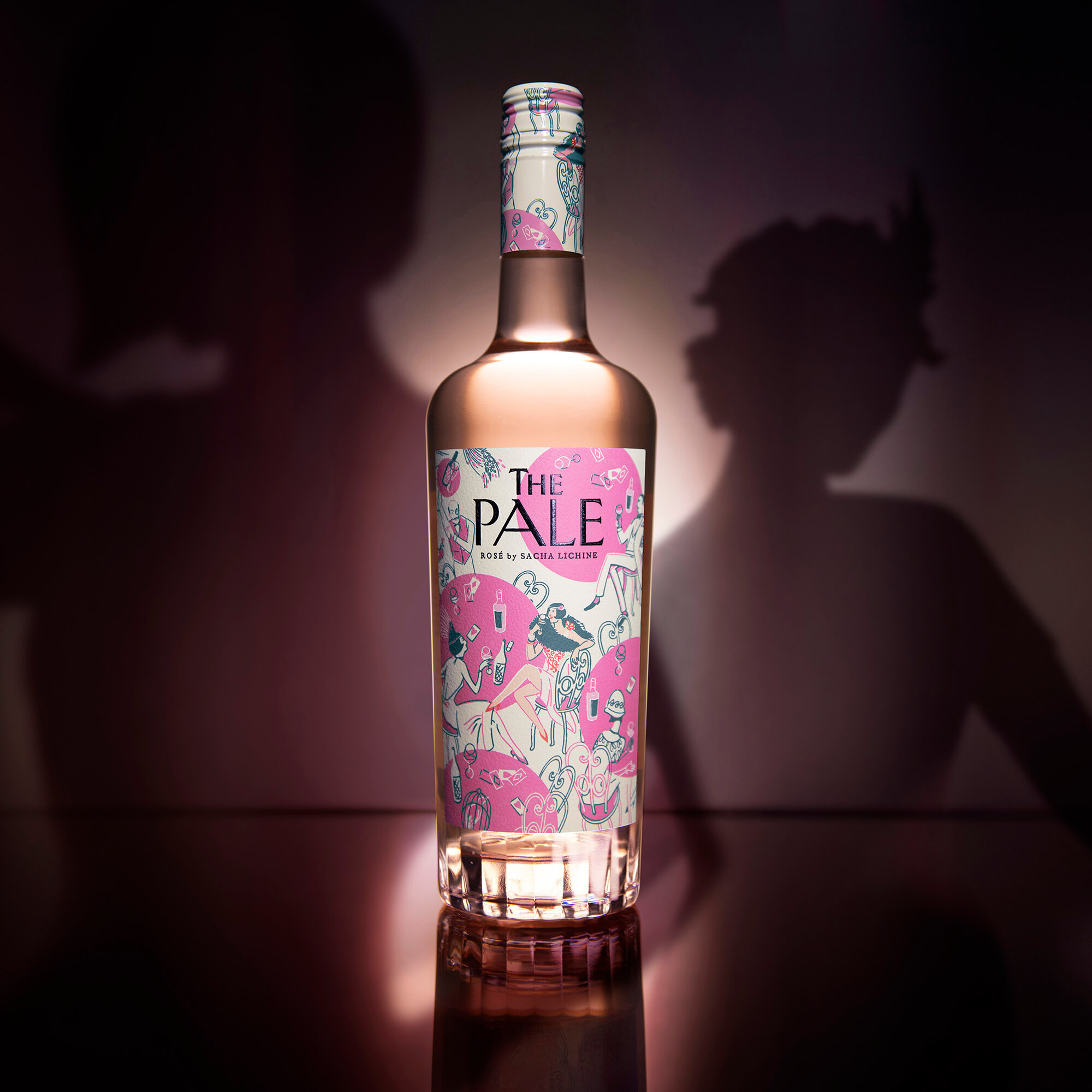 Design Bridge Creates Branding for The Pale, a New Rosé Concept from Renowned Winemaker Sacha Lichine