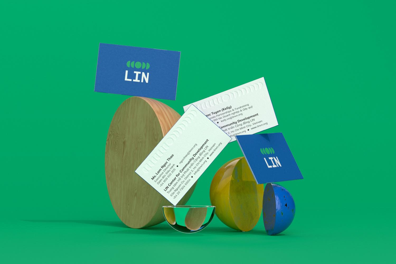 Rebranding for LIN Center for Community Development Created by Xolve