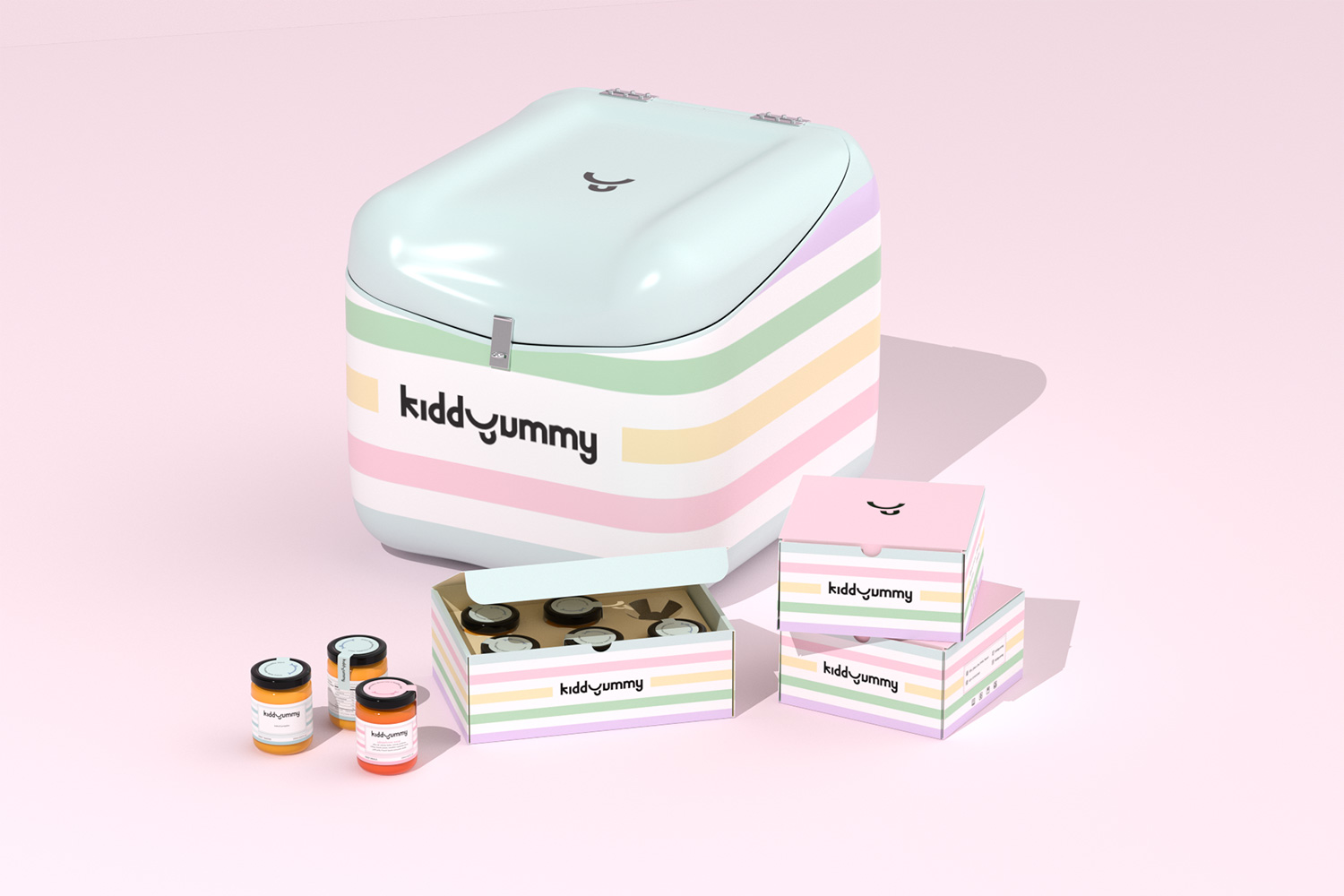 Kiddyummy Product Branding and Packaging Design by Xolve