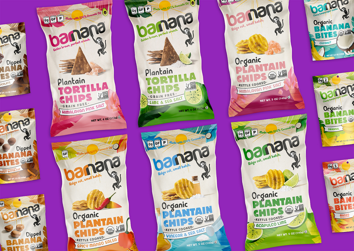 BexBrands Barnana Packaging Redesign
