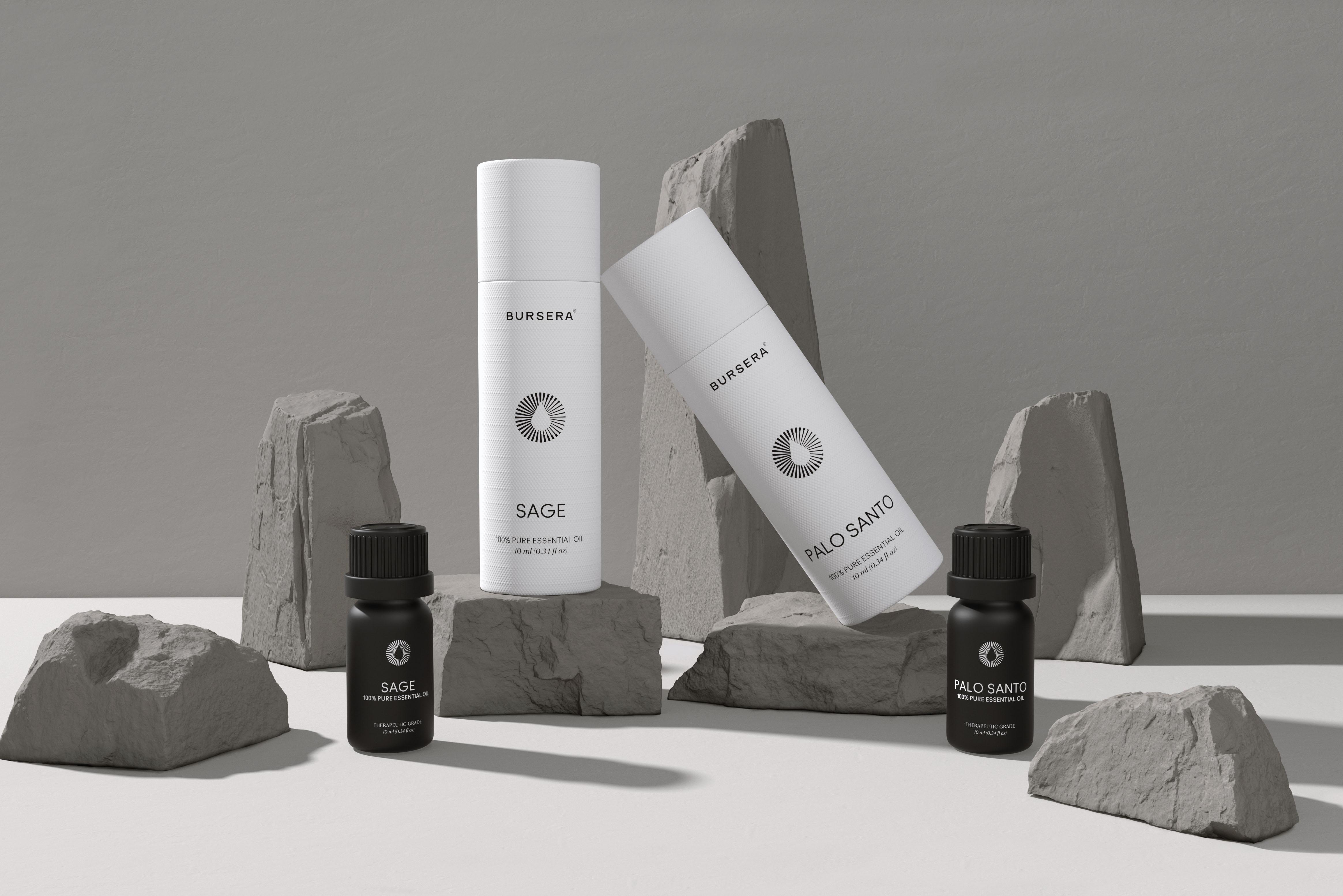 Bursera Aromatherapy Branding by Alejandro Gavancho