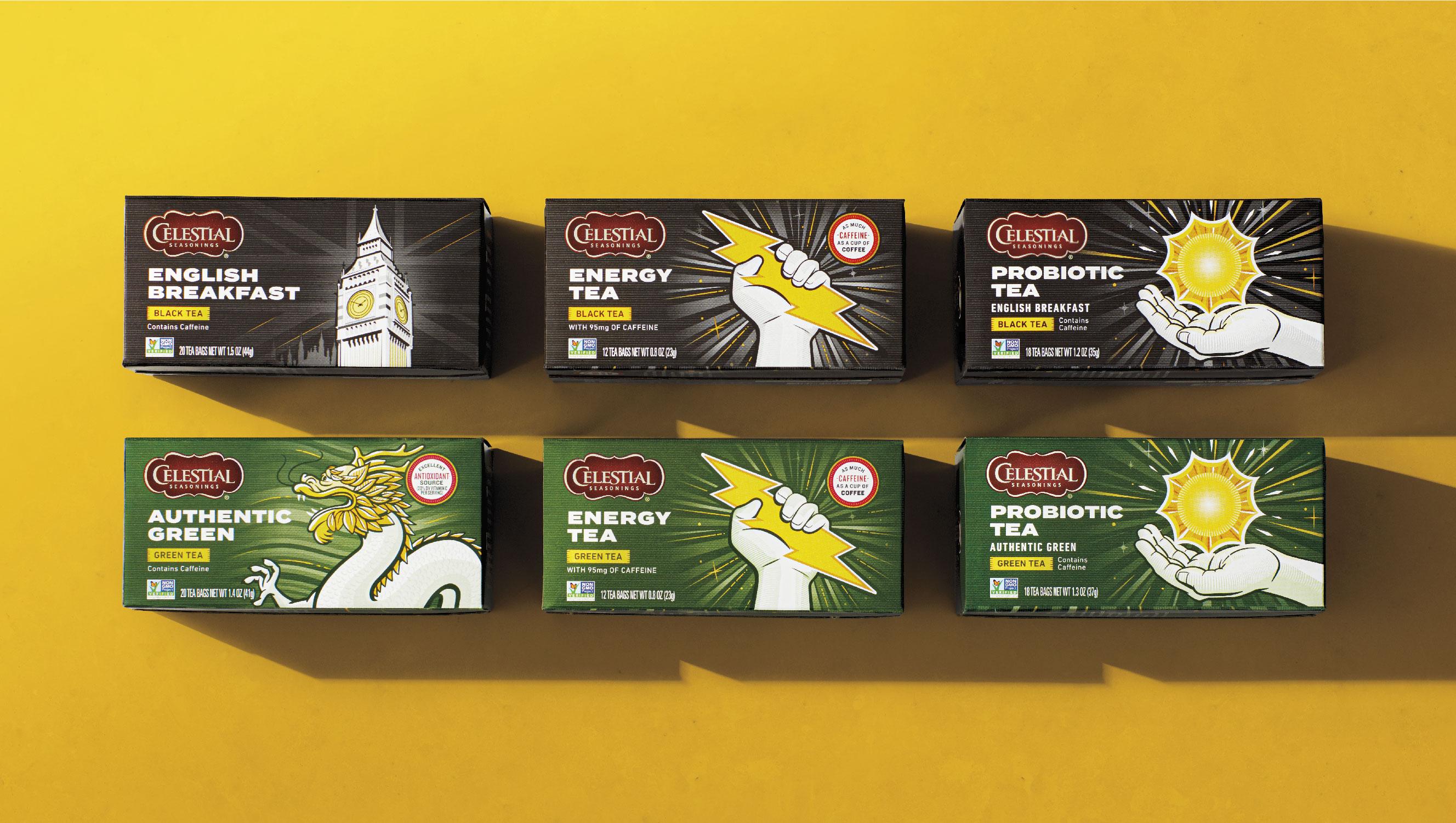 Modernising Celestial Seasonings Green and Black Tea For A New Generation