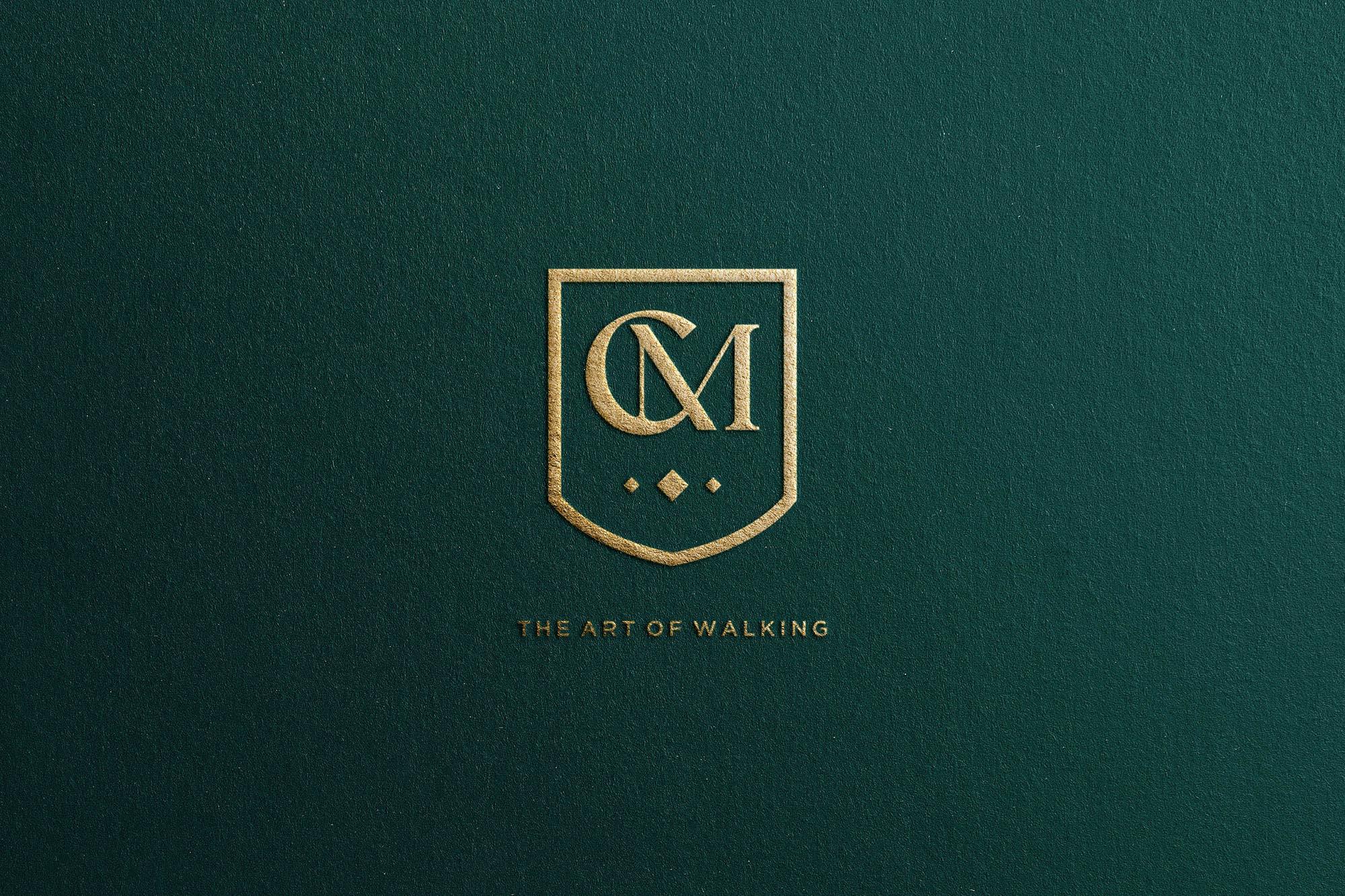 Branding for Como the Art of Walking by Cursor Design Studio