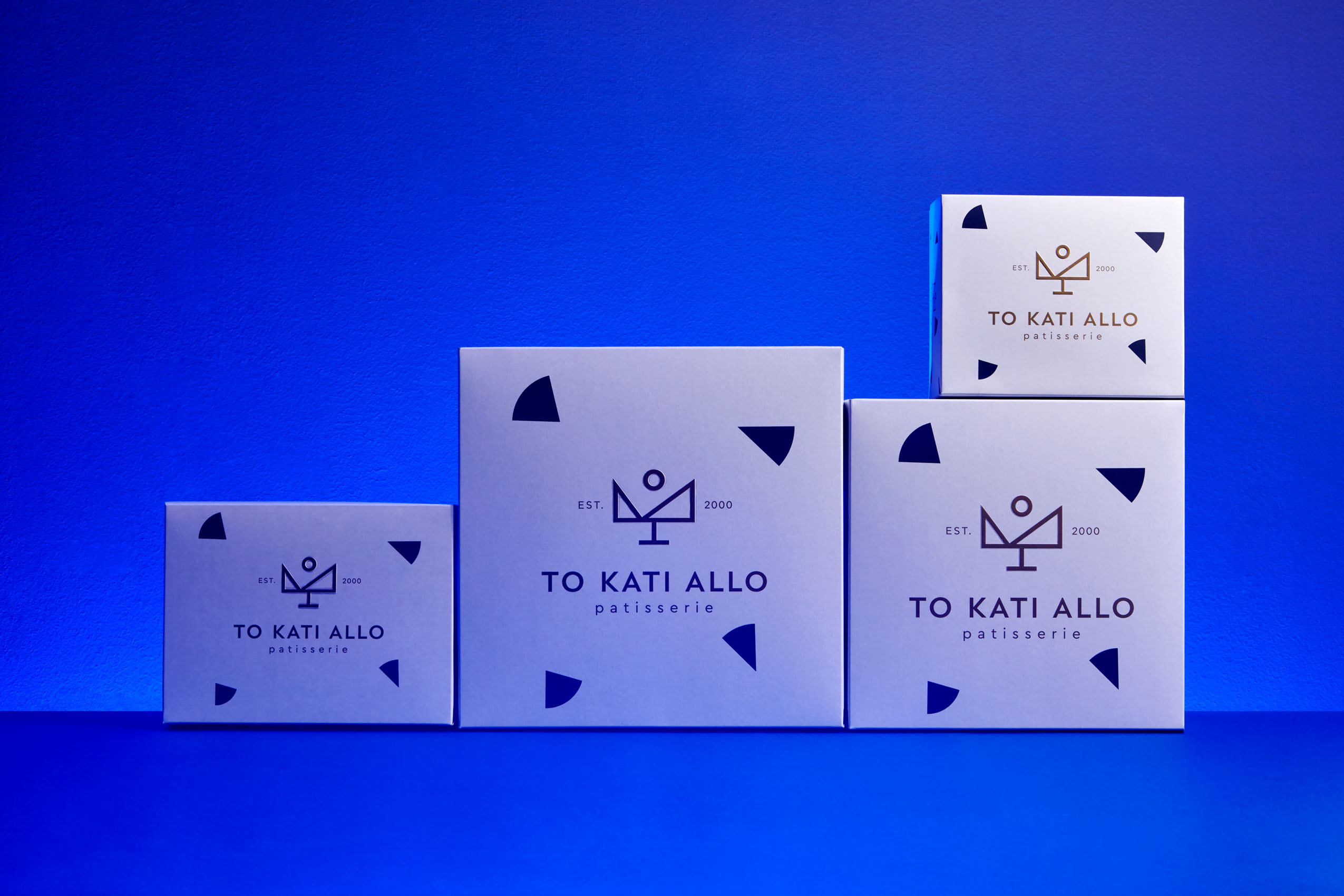 Patisserie To Kati Allo Brand and Packaging Design by Cursor Design Studio