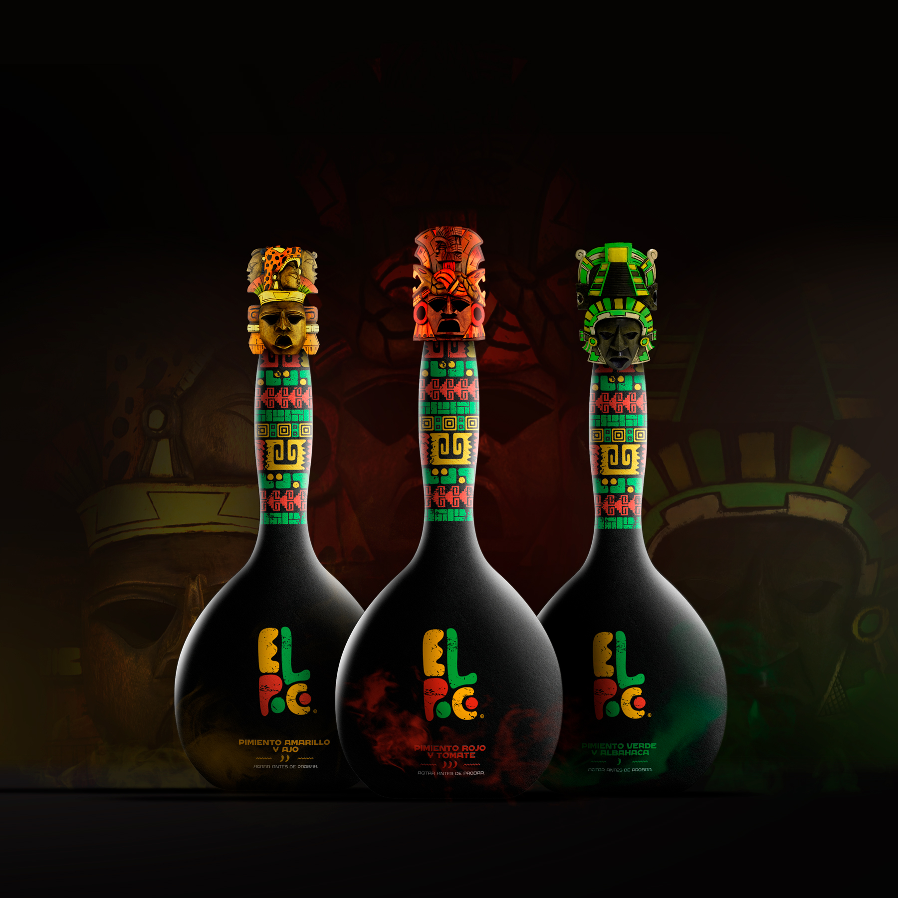 Packaging Design for El Poco New Mexican Hot Sauce Created by Hurtikonn