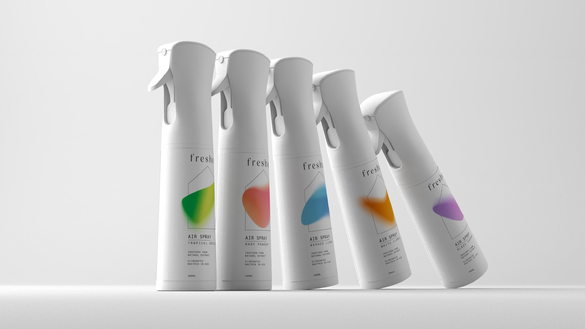 Stamp Works Designs Fresher Air Spray for Fragrance Company