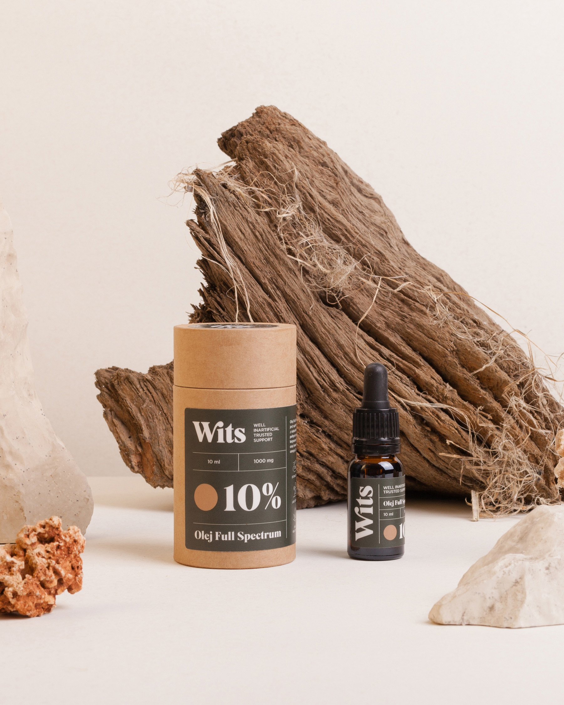 Unifikat Studio Branding and Packaging Design for CBD Brand Wits