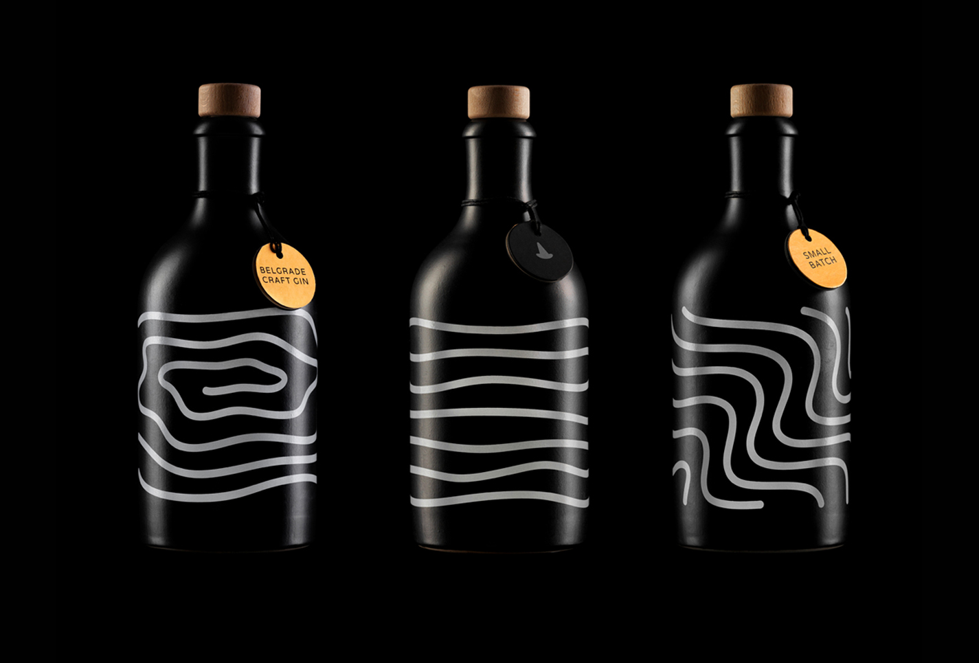 Young Salt Gin Packaging Design Created by Stefan Knezevic