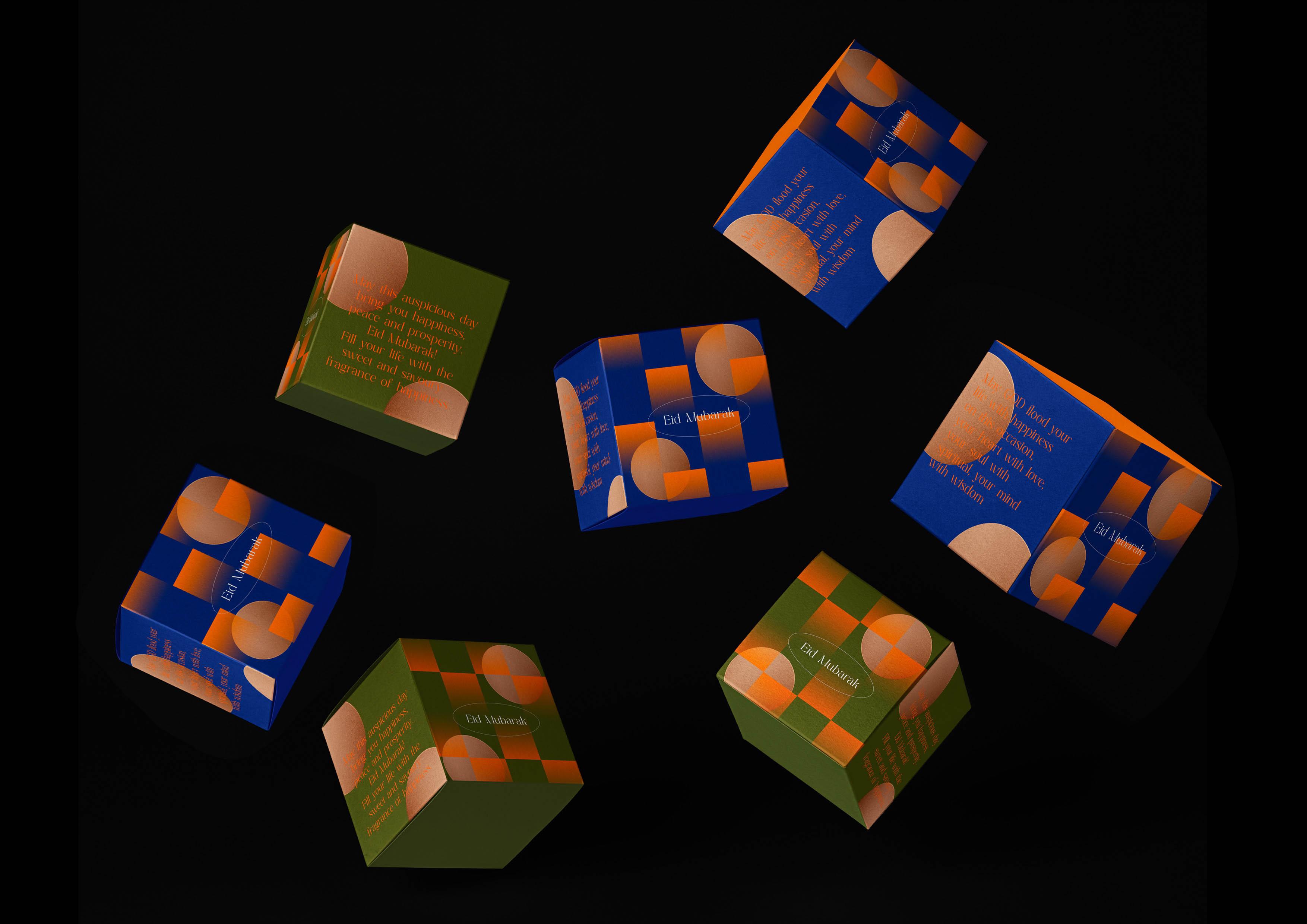Eid Mubarak Festival Packaging Design by Nero Atelier
