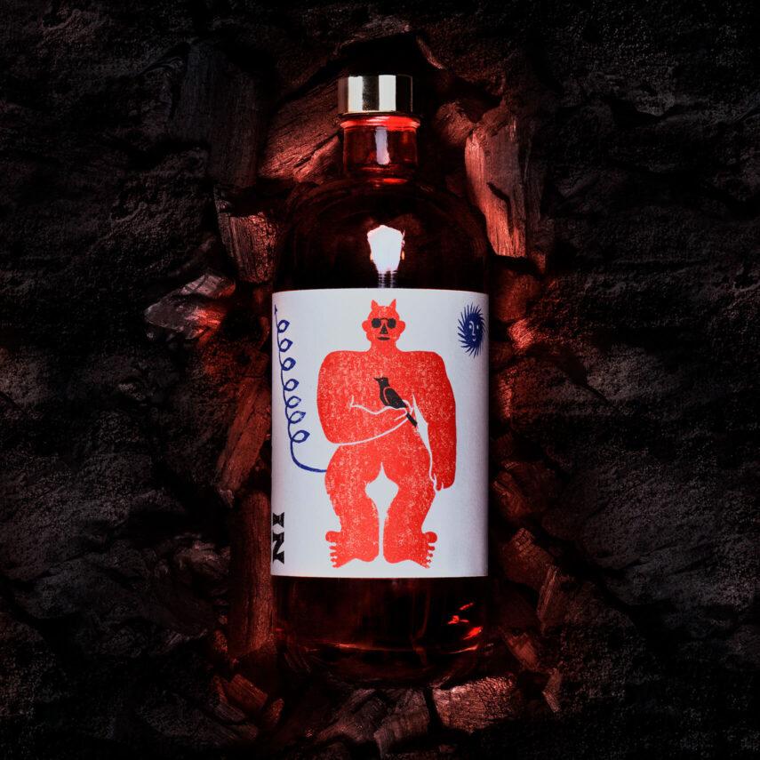 Illustration and Label Design for Pre-Batch Emanuel Cocktails by Lettera7