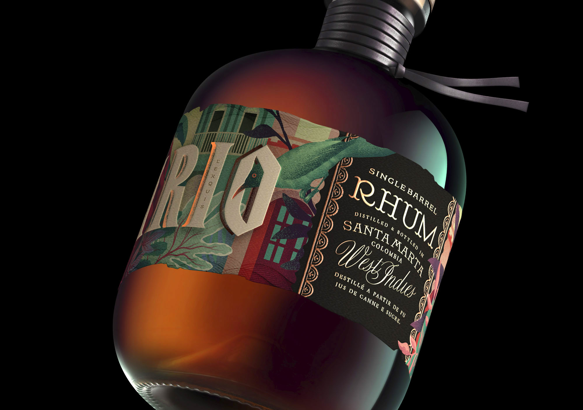 Samario Rum Packaging Design Created by Oveja & Remi