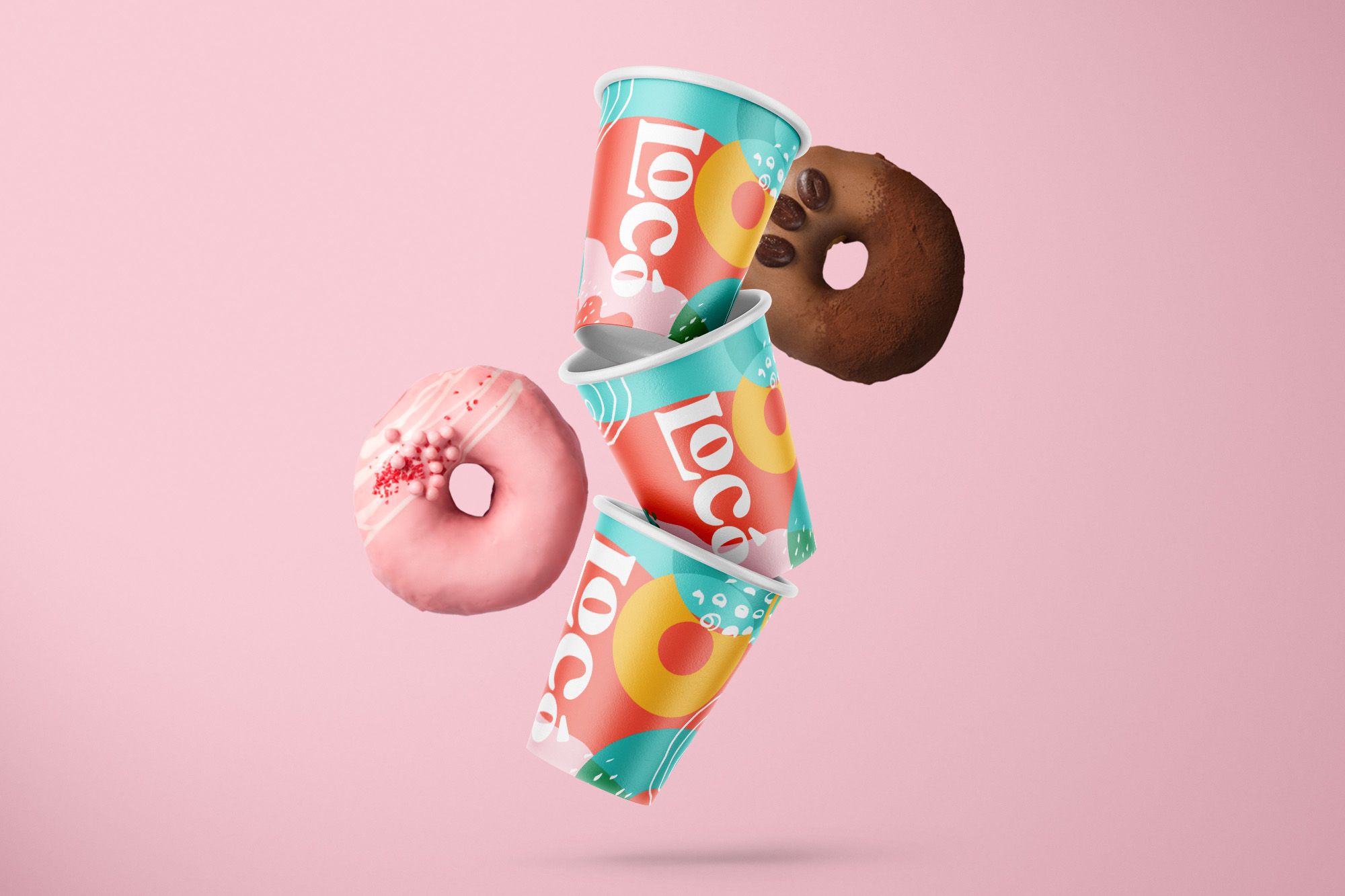 Playful Design Approach for LoCo Donuts and Coffee