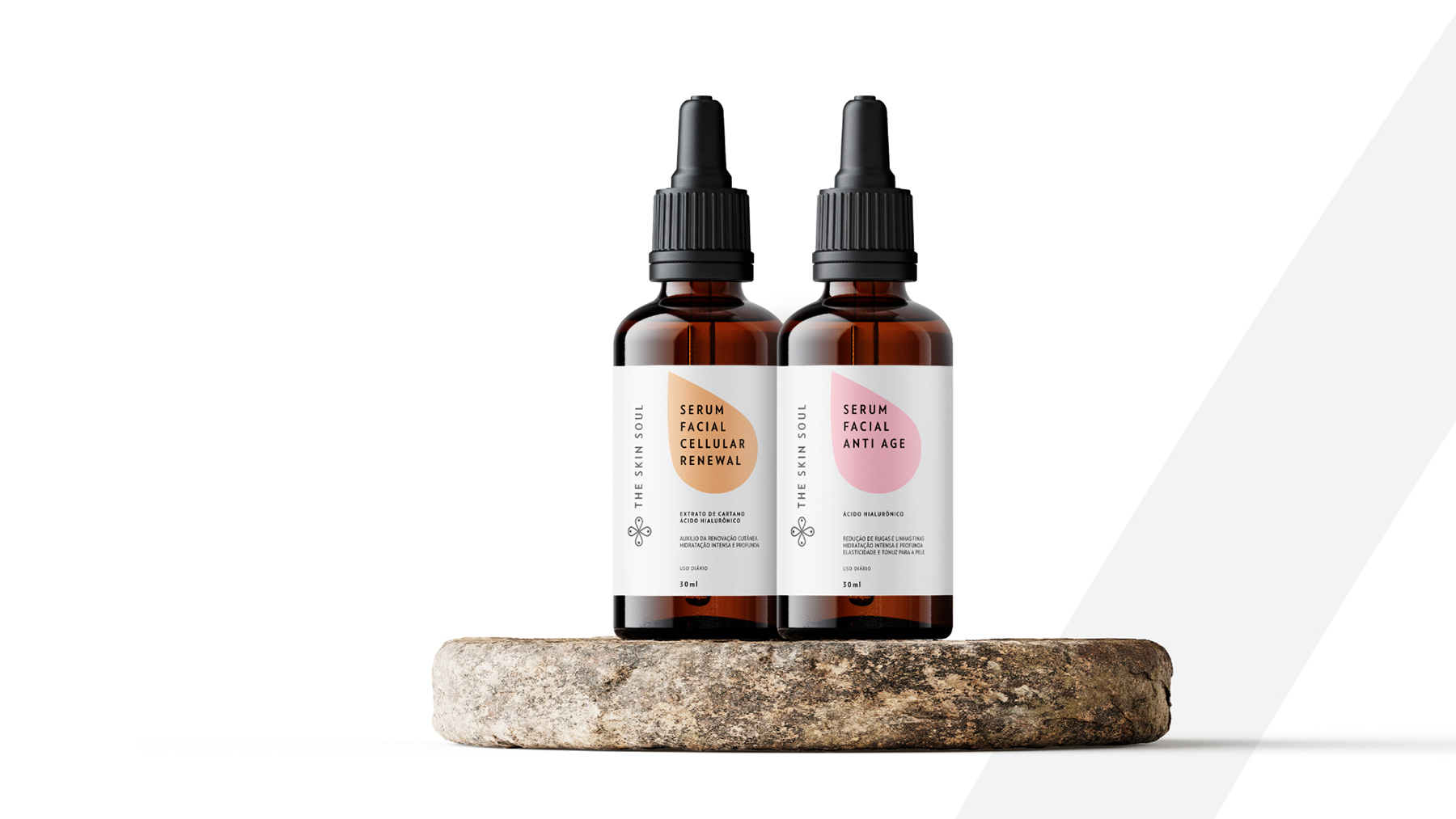 The Skin Soul Brand and Packaging Design by Agência Bud