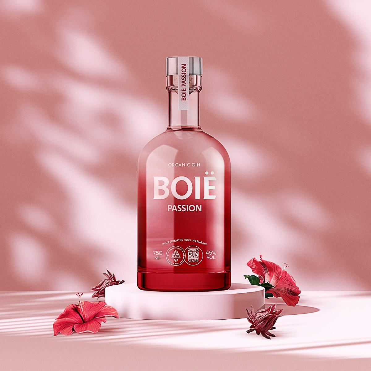 Boië Organic Gin New Packaging Design by Vbiasi Design