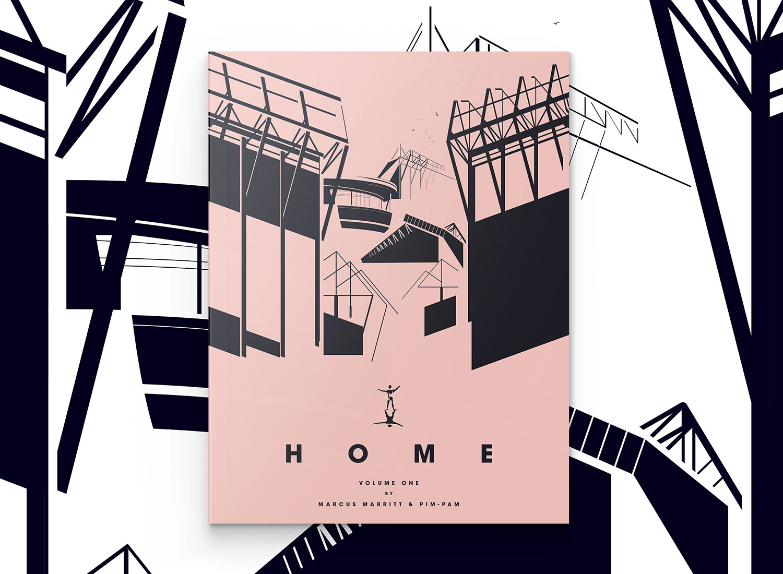 Creative Studio Pim-Pam and Illustrator Marcus Marritt Capturing 30 of the World's Greatest Club Football Stadiums