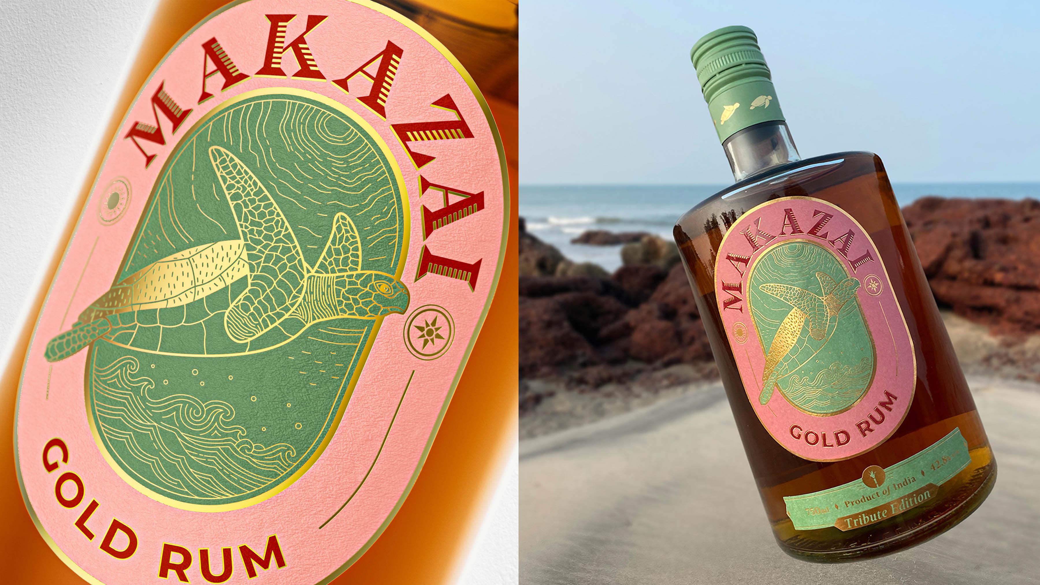 Popping Mustard Designs India's Homegrown Craft Rum Maka Zai from Stilldistilling Spirits