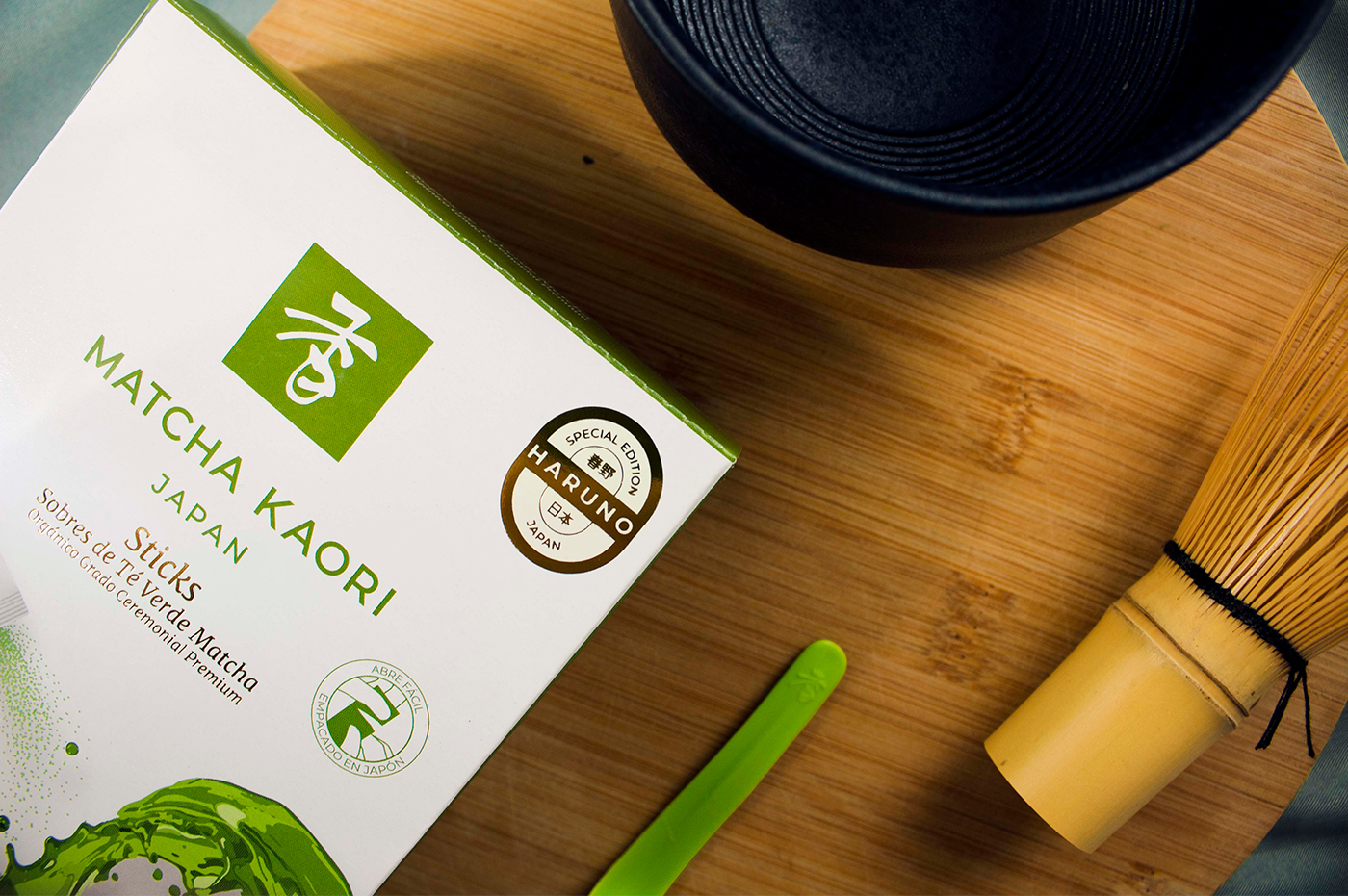 Rebranding of Matcha Kaori a Mexican Brand of Japanese Matcha Green Tea by Armatoste