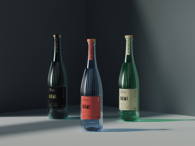 Ancla Studio Design the First Edition of Nami Sake