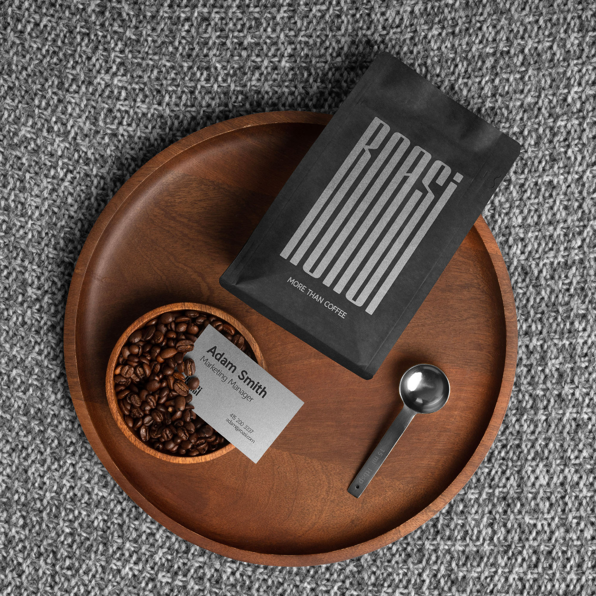 Brand Identity Design For Roasi Coffee