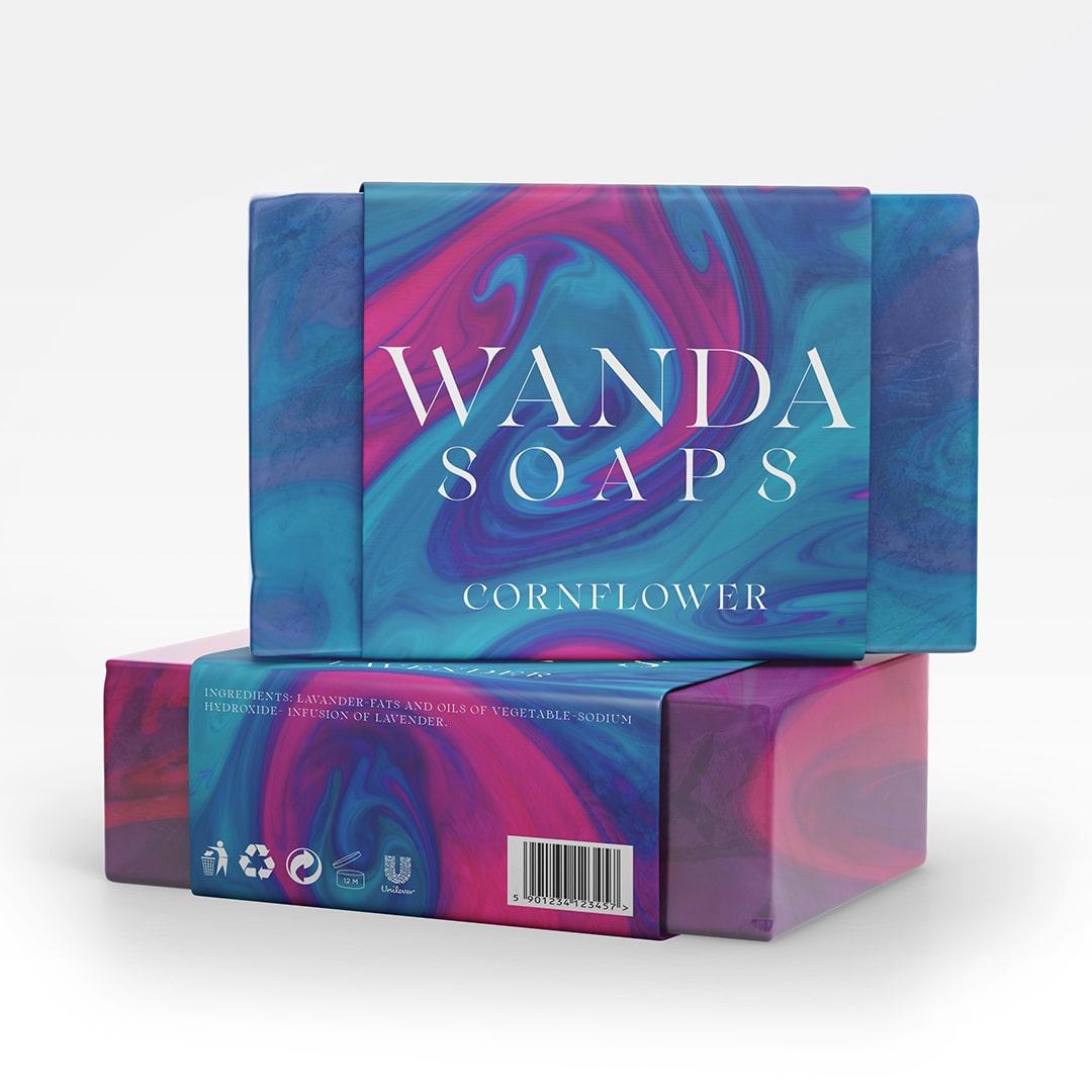 Wanda Soaps Packaging Design