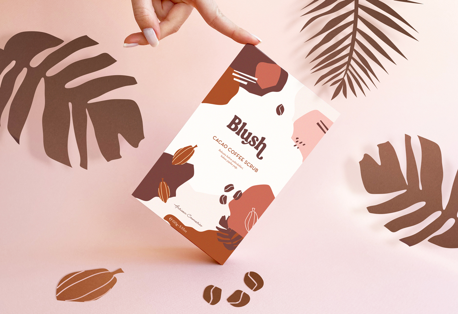 Branding and Packaging for Blush Cosmetics