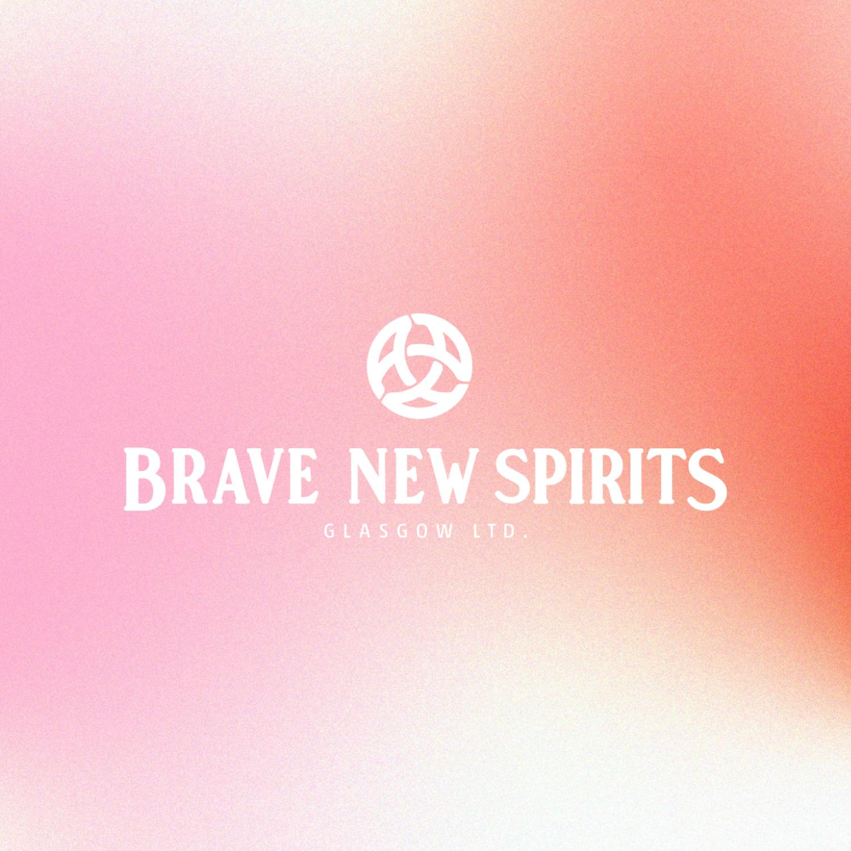 Brand Identity, Print and Digital Assets for Brave New Spirits Designed by De:strukt Studio