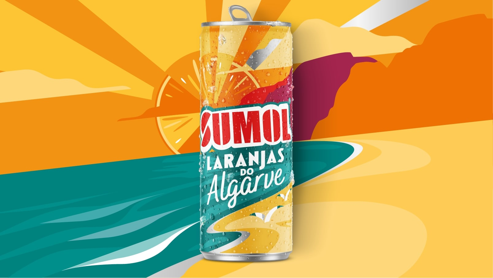 BrandMe Creates Brand Strategy and Packaging Design for new Portuguese Soft Drink, Sumol Laranjas do Algarve