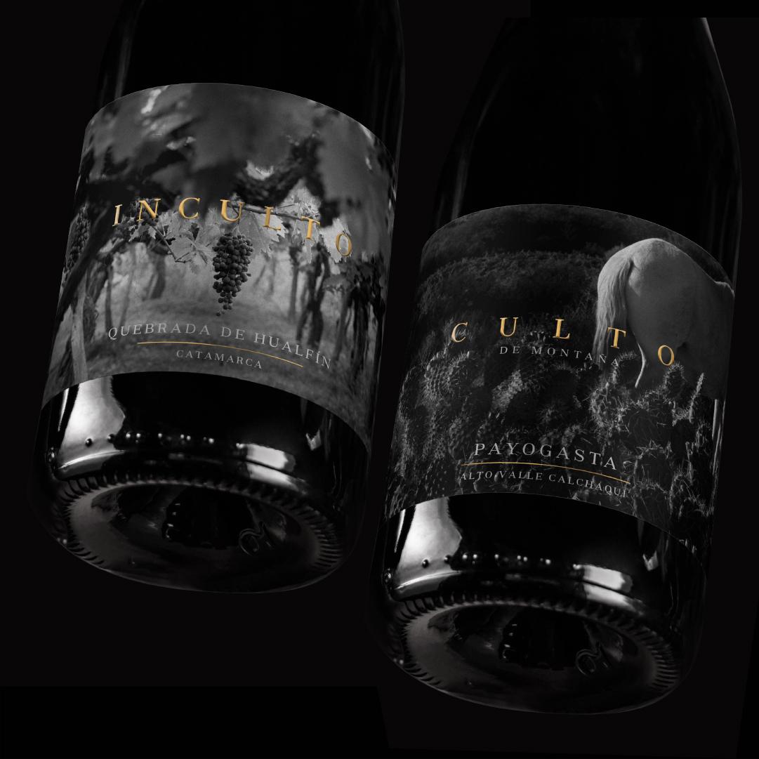 Estudio Argo Create Inculto Landscape Wines Label Design for Matías Michelini and Pancho Lávaque