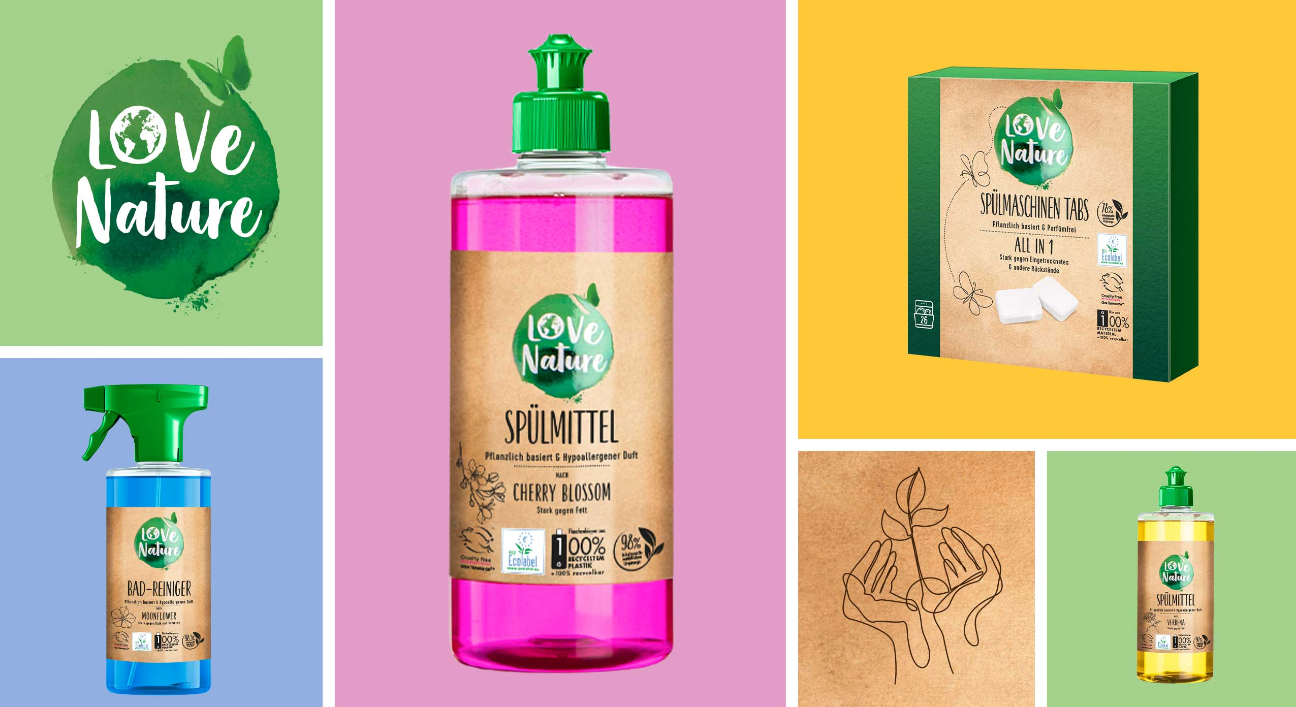 Brand Building for Innovative New Brand Love Nature