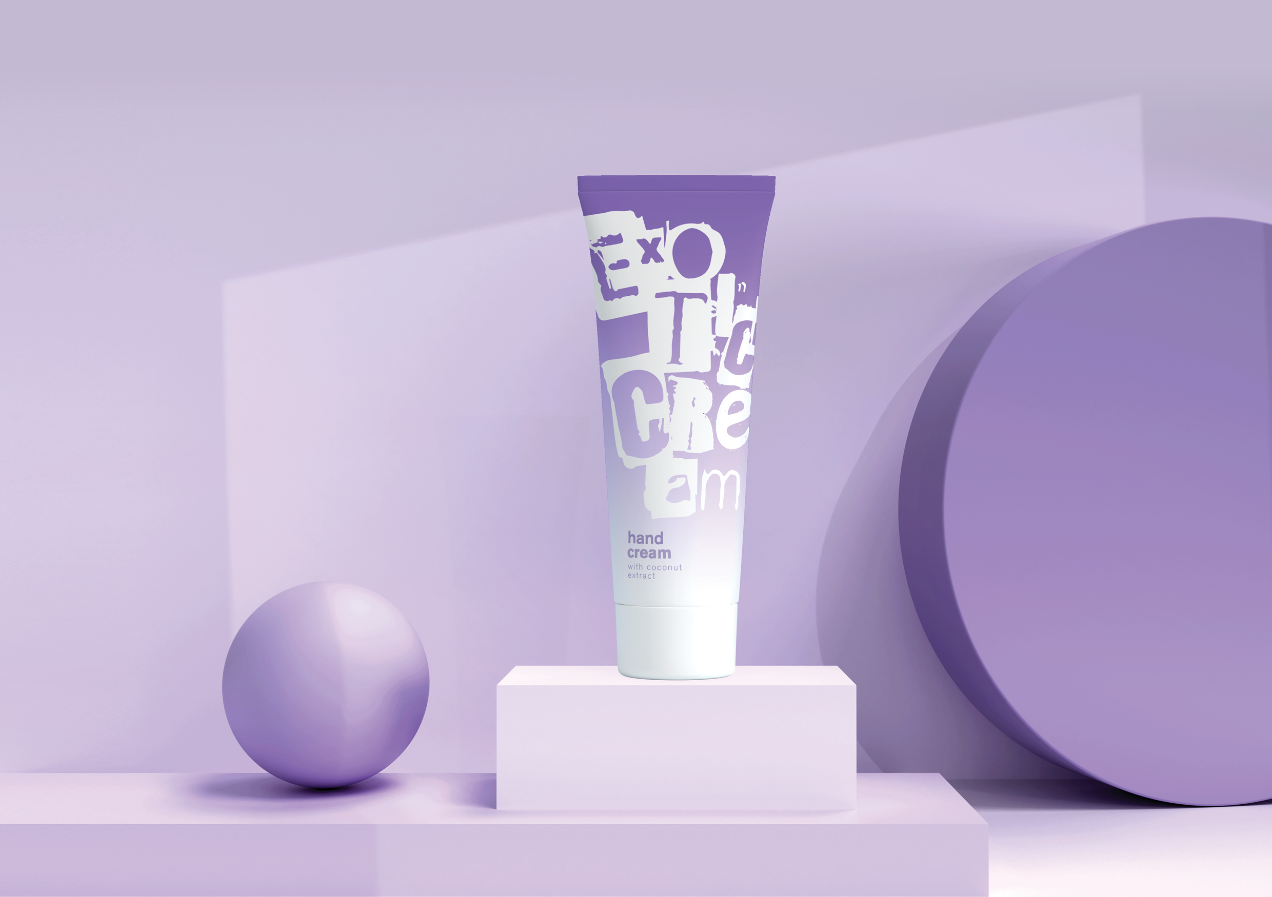 Exotic Shampoo Concept Packaging Design by Tanya Dunaeva