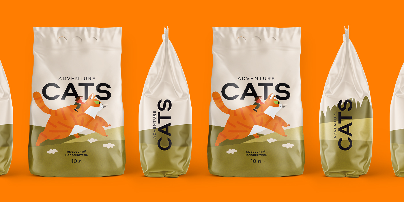 Ferma Agency Creates a Packaging Design for Adventure Cats