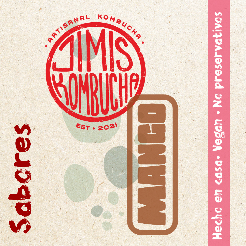 Branding for Jimis Kombucha Created by José Liranzo Guillén