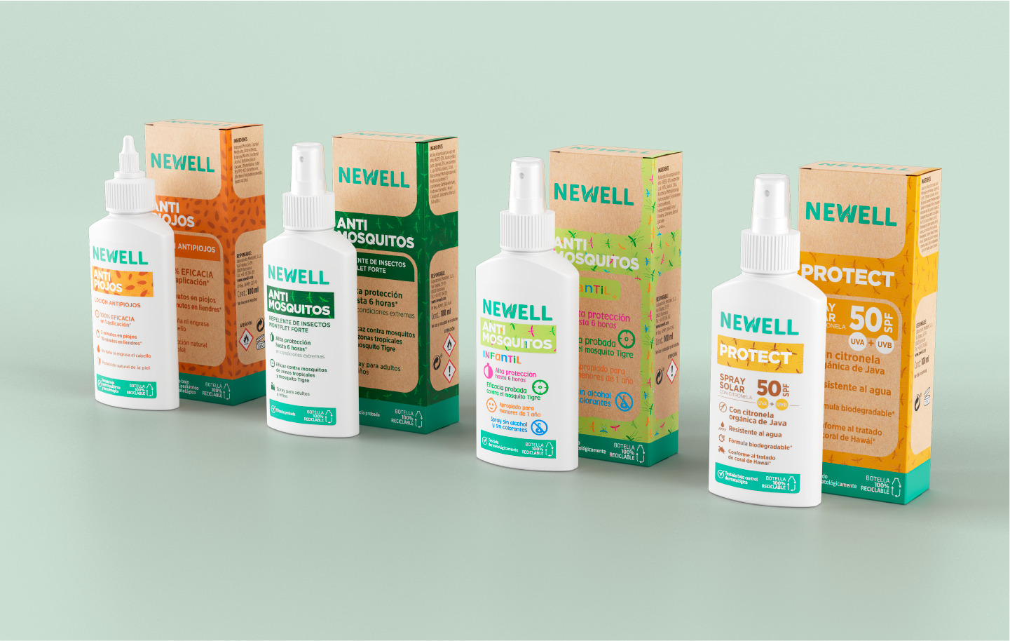 Little Buddha Agency Creates Packaging Design for Newell Care Product Range