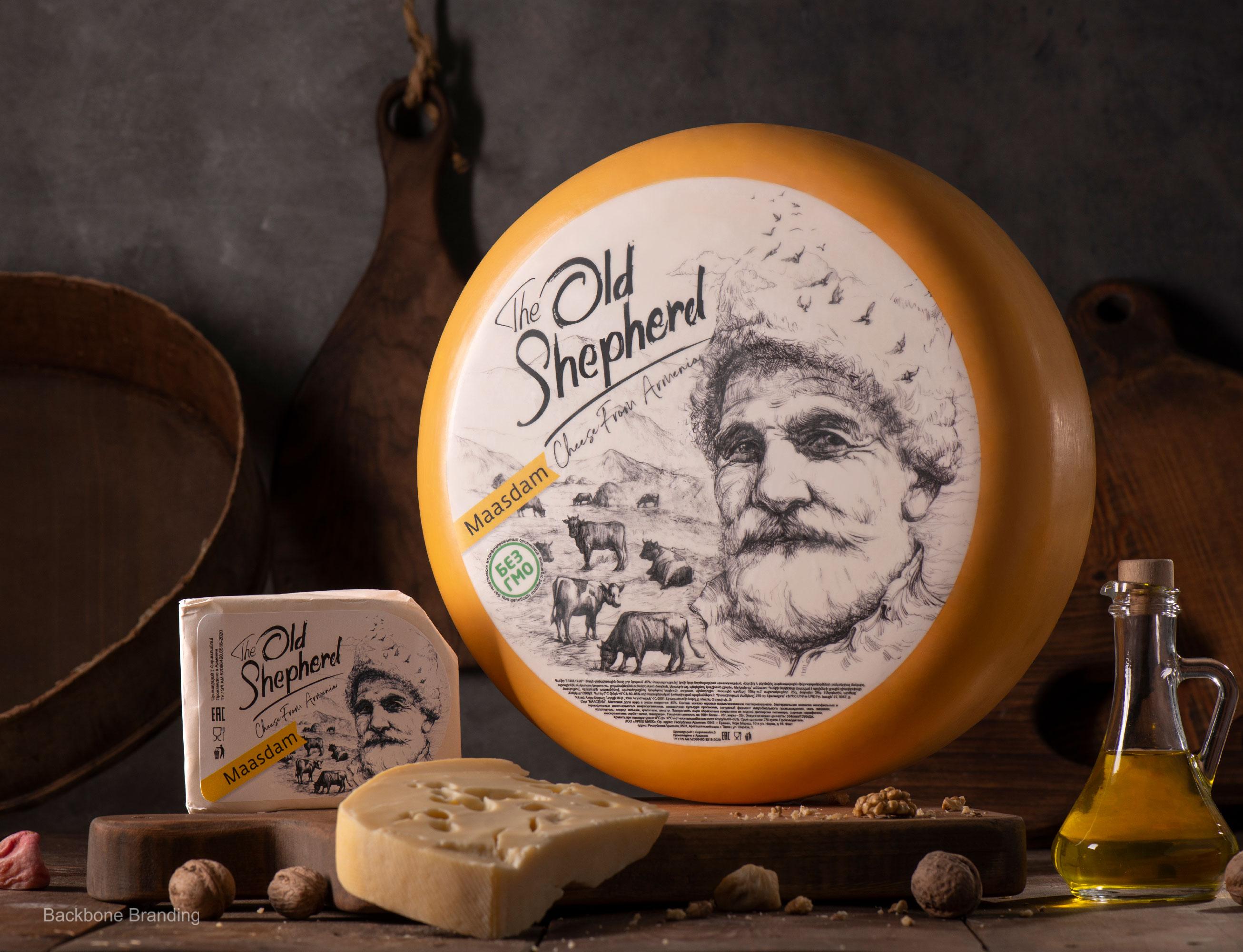 Backbone Branding Create Packaging Design for a New Brand of Masdaam Cheese