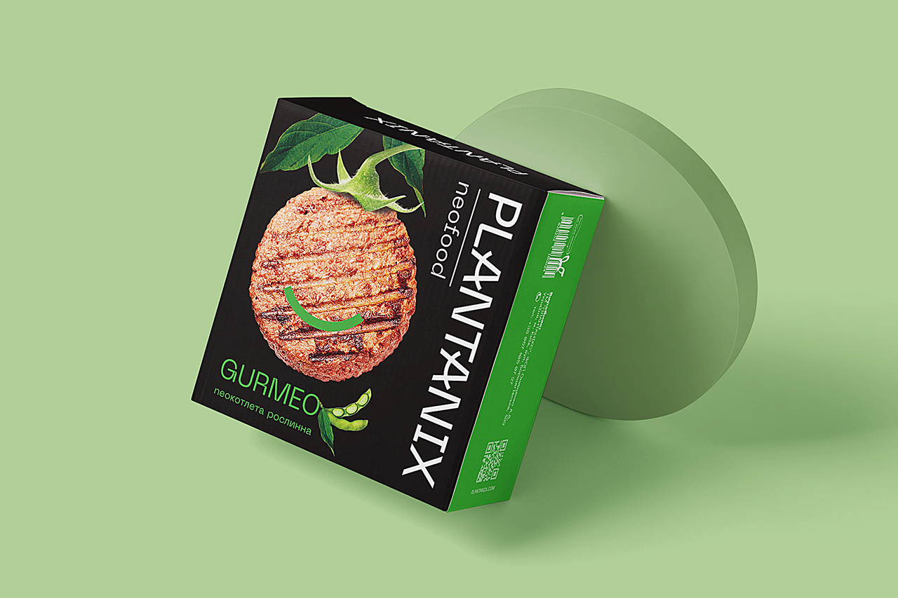 Food for a New Reality: Developing Branding for Plant-based Meat Plantanix by Brand Loft Agency