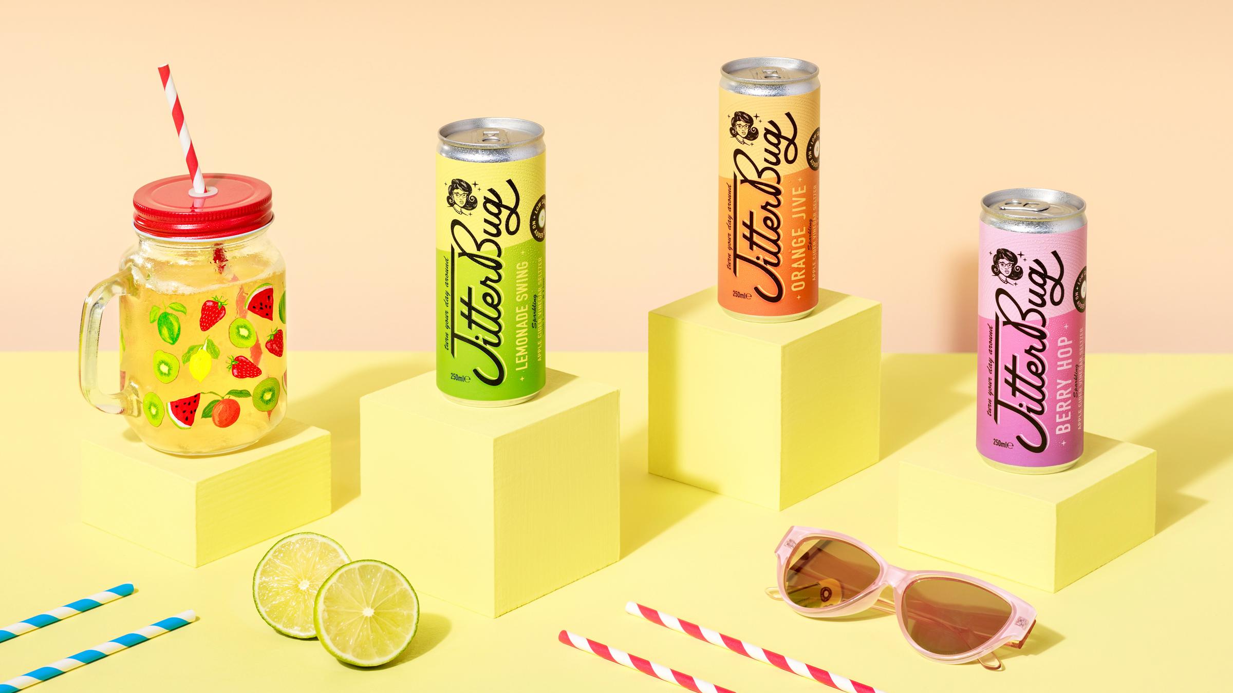 Kingdom & Sparrow Create Branding for Gut Health Brand Jitterbug