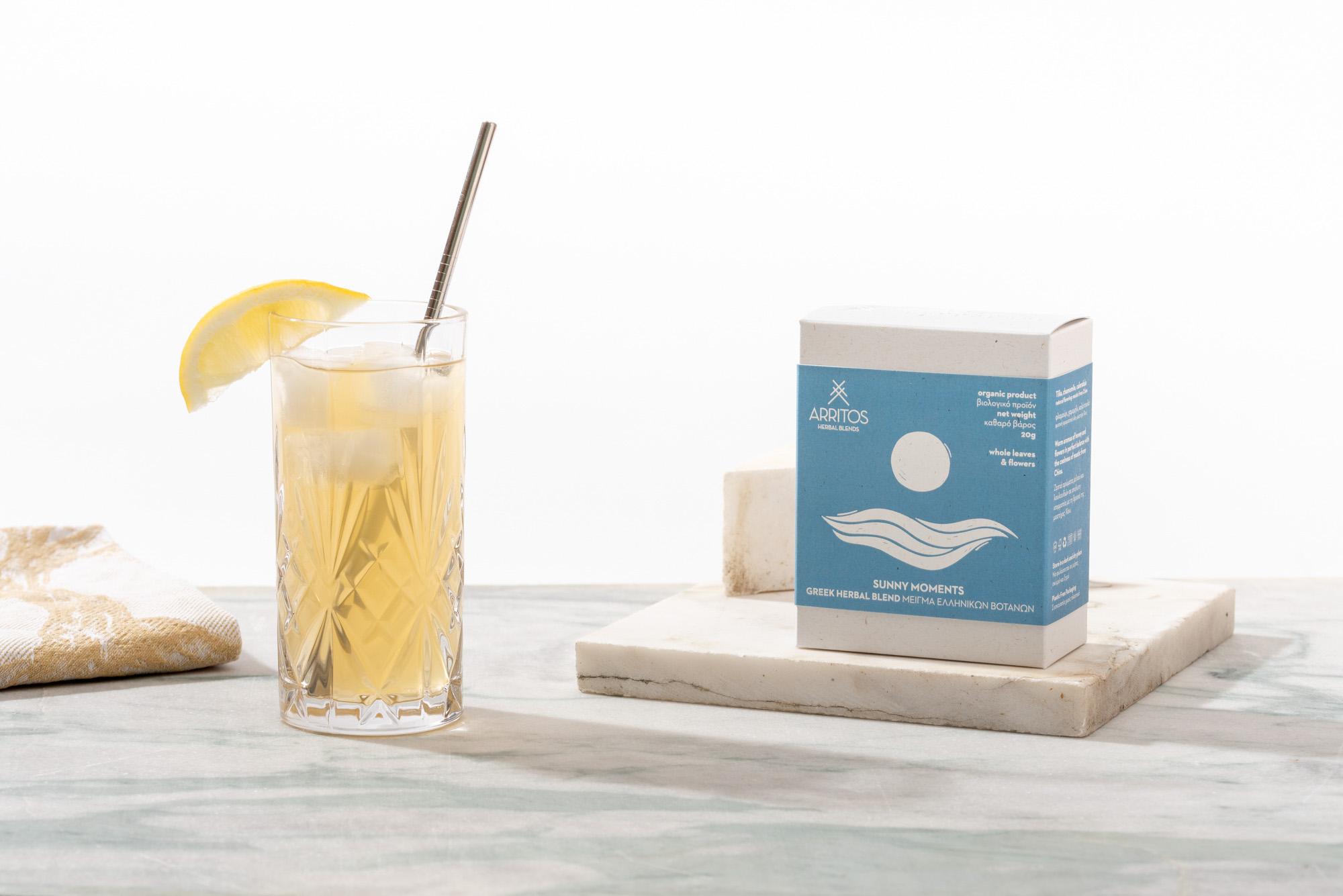 Slab Design Studio Create the Packaging Design for Arritos Herbal Blends from Greece