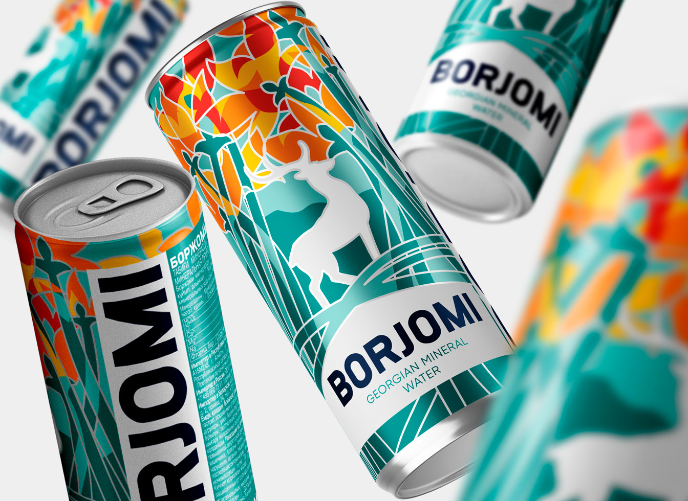 Borjomi Limited Edition Packaging for Nauryz Designed by BBDO Kazakhstan
