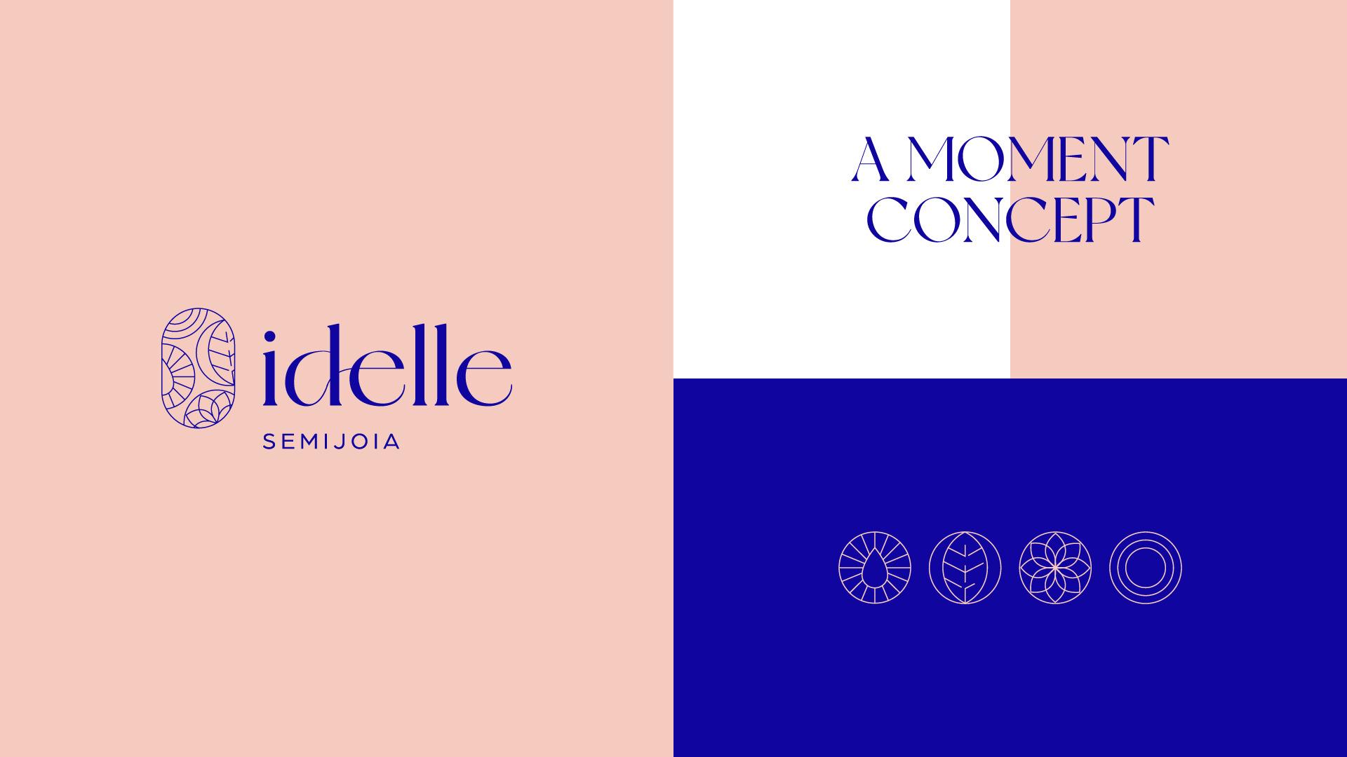 Idelle Semi-Jewels Branding by Nil Brands