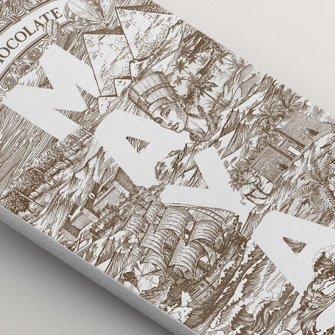 Maya Chocolate Designed by Studio Metis