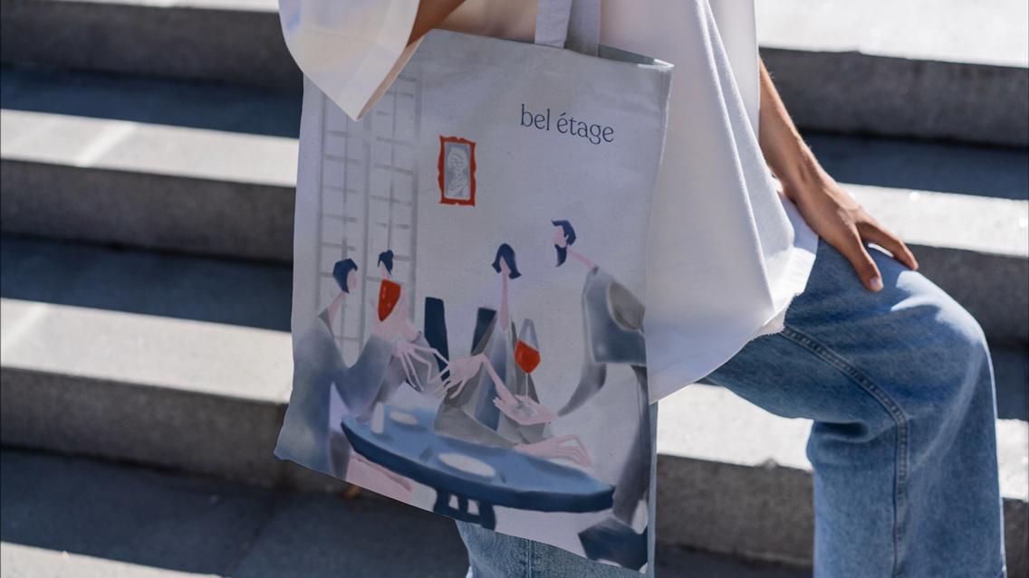 Beletage Restaurant Rebranding by Digital Factory