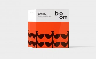 Granular Fertilizer Bloom Packaging Design